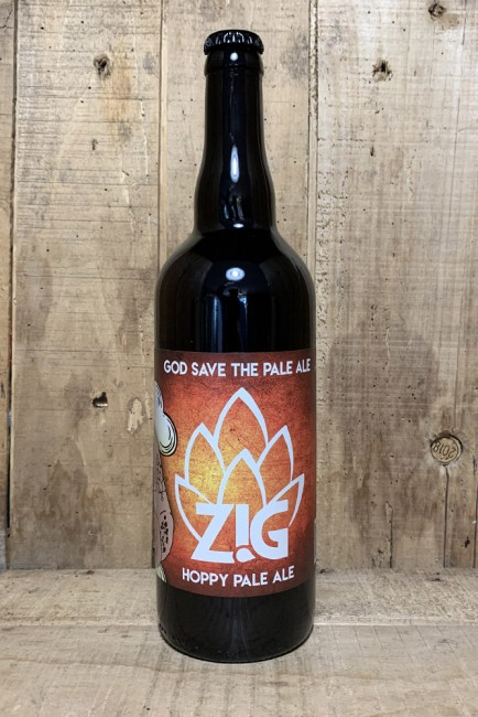 ZIG god save the Pale Ale